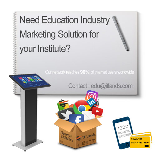 Education Industry Marketing Solution ITLands