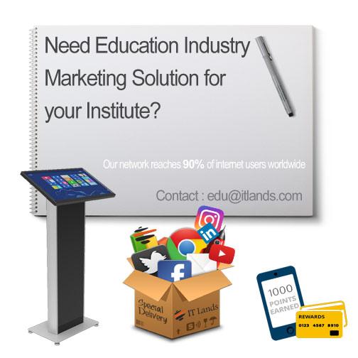 Education Industry Marketing Solution ITLands
